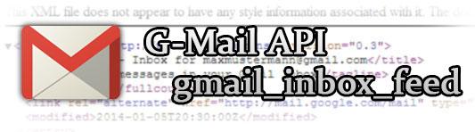 Gmail API gmail_inbox_feed