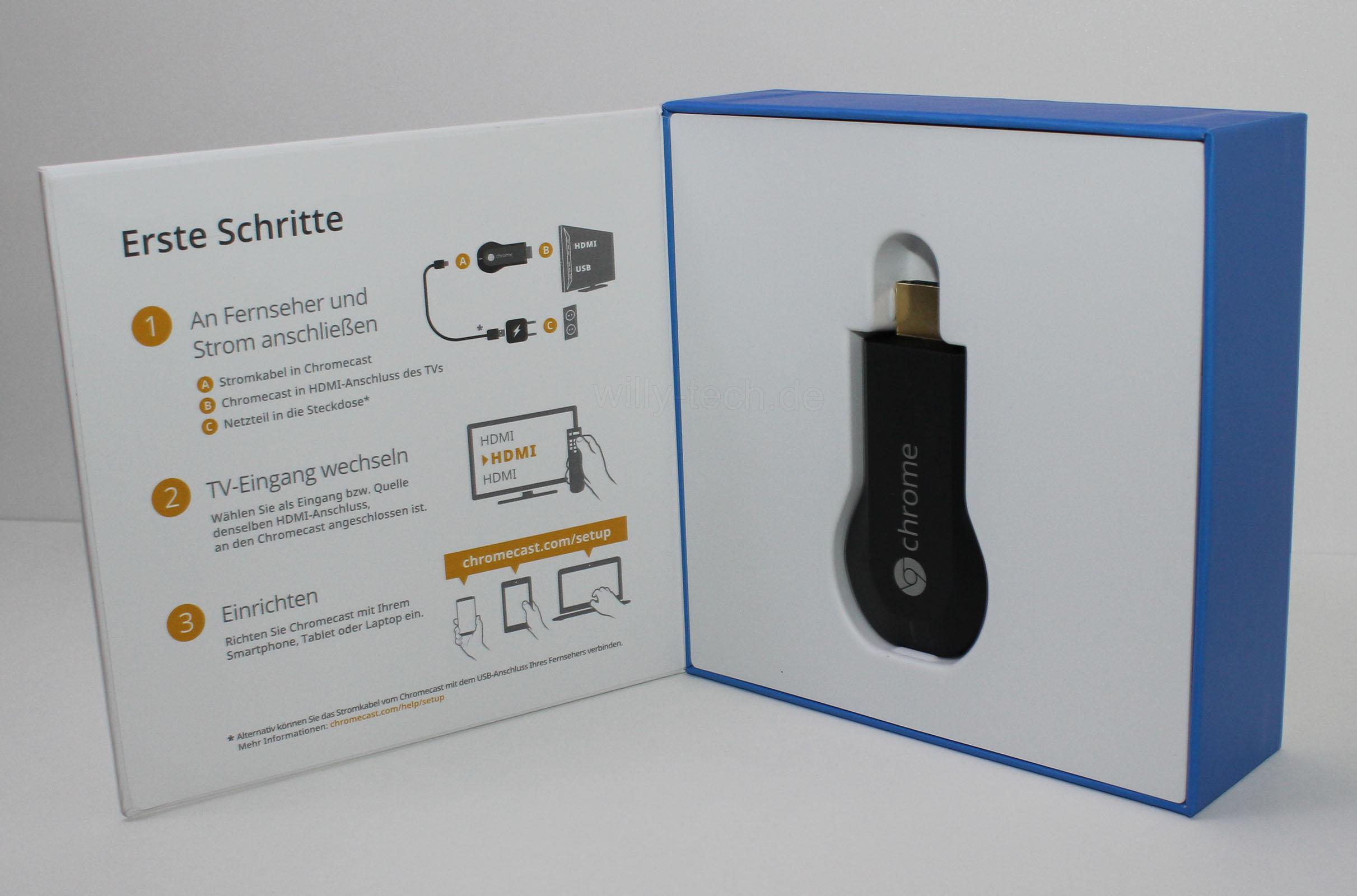 Google Chromecast Willy S Technik Blog