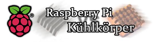 Raspberry Pi Kühlkörper