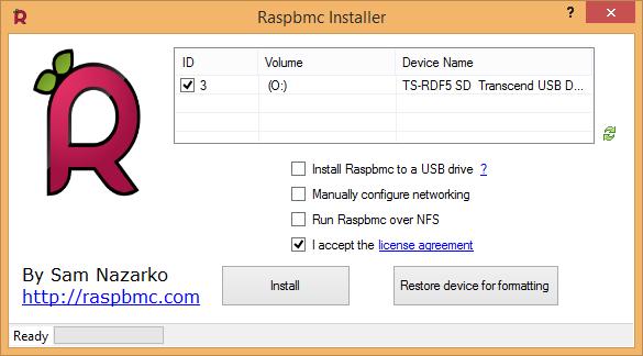 XBMC: Raspbmc installieren