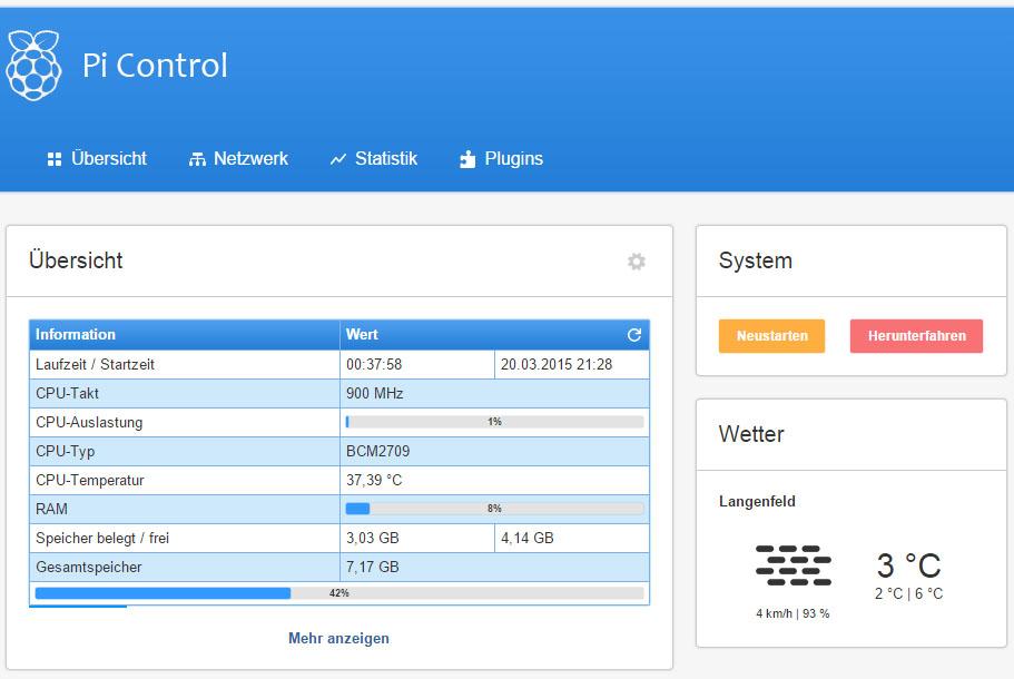 Pi Control 1.3