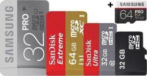 microSD-Karten im Vergleich