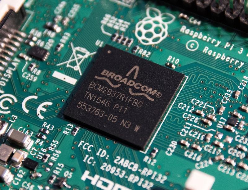 BCM2837 SoC auf Raspberry Pi 3