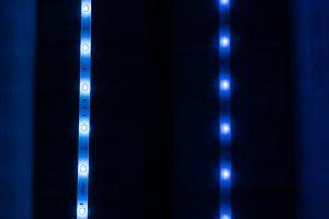 Philips Hue vs Osram - Blau
