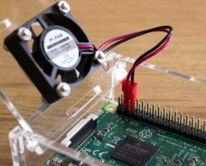 Raspberry Pi 3 Aktive Kühlung - Kabel-GPIO Anschluss
