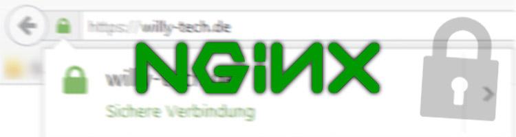SSL-Zertifikat in Nginx konfigurieren - Willy\'s Technik-Blog